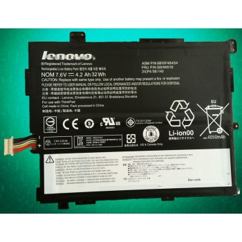 Replacement Lenovo SB10F46454, 00HW016 4200mAh/32Wh Battery