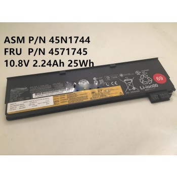 Lenovo ASM 45N1744 FRU 45N1745 69 Laptop Battery