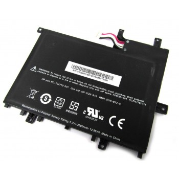 Replacement Hp sun-b12 724536-001 728687-001 724712-001 slate 7 tablet battery