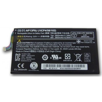 Replacement Acer Iconia Tab B1-720 AP13P8J  KT.0010G.005 11.2Wh Battery