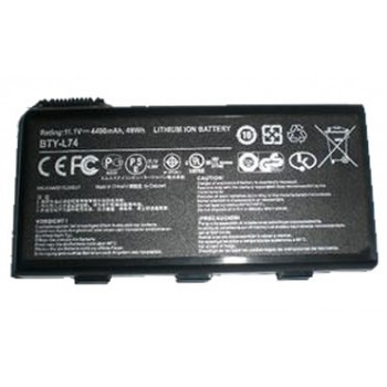 Replacement MSI CR700 CX600X CX610 CX620 CX620X BTY-L74 Battery