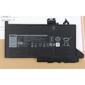 Replacement Dell DJ1J0 Latitude 12 7000 7280 7480 3 cell 42WH Laptop Battery