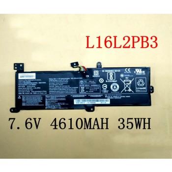 Replacement Lenovo L16L2PB3 L16M2PB3 IdeaPad 320-15ABR 320-15AST laptop battery