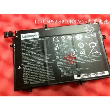 Genuine Lenovo L17C3P52 SB10K97613 01V466 laptop battery