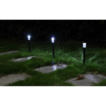 LED Solar lawn lights outdoors Power Street Light Garden Security Lamp Outdoor Waterproof Lights