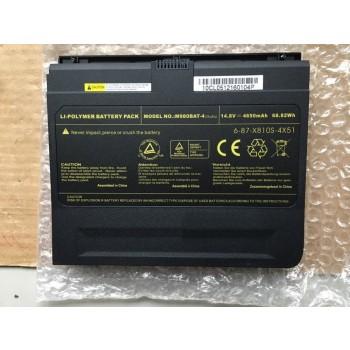 Genuine Clevo X8100 M980NU M980BAT-4 6-87-X810S-4X5 Battery