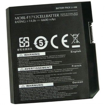 Replacement Dell Alienware M17X MOBL-F1712CELLBATTER Battery