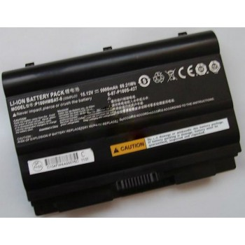 Replacement CLEVO P180S SERIES P180HMBAT-8 6-87-P180S-427 Battery
