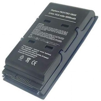 Replacement Toshiba Satellite 5005 5105 PA3211U-1BRS PA3123U-1BRS Battery