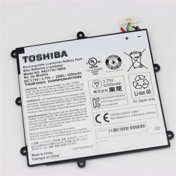 3.75V 20Wh Genuine Toshiba  PA5173U-1BRS 1ICP4/56/89/2 Tablet Battery