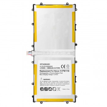 Replacement Samsung Google Nexus 10 GT-P8110 HA32ARB SP3496A8H Tablet Battery