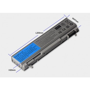 Replacement Dell E6410 E6510 E6400 E6500 PT434 W1193 laptop battery