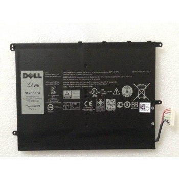 Genuine DELL YN6W9 7.4V 32WH Rechargeable Li-polymer tablet battery