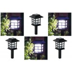 chinese eastern Lantern Style Waterproof LED Solar Landscape Light Garden Lawn Yard Park Square Decoration