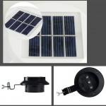 Solar Power Motion Sensor Corridor lamp wall lamp Garden Lamp 3 LED Outdoor Light
