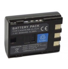Canon NB-2LH 7.4V/750mAh Replacement Camcorder Battery