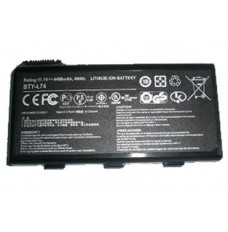 MSI MS-1681 11.1V 4400mAh Replacement Laptop Battery