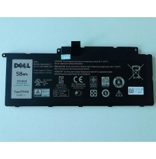 Dell F7HVR 14.8V 58Wh Replacement Laptop Battery