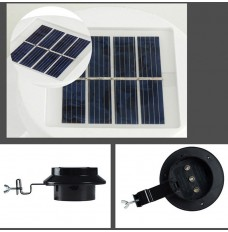 Solar Power Motion Sensor Corridor lamp wall lamp Garden Lamp 3 LED Outdoor Light