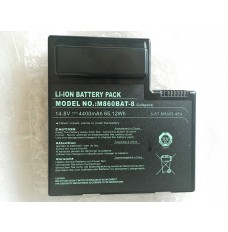 Clevo  6-87-M860S-4P4-T 14.8V 4400mAh 65.12Wh Genuine Laptop Battery