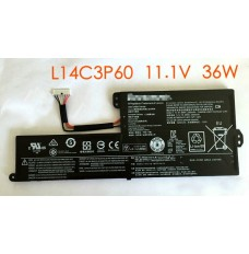 L14C3P60 11.1V 36Wh/3300mAh Replacement Lenovo L14C3P60 Laptop Battery