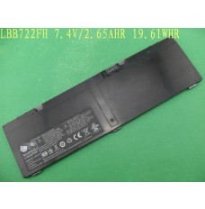 Replacement LBB722FH Battery For LG X300 Series 7.4V 2650mAh/19.61Wh