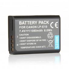 Canon 5108B002. 7.4V Li-Ion 1080mAh Replacement Camcorder Battery
