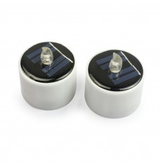 New Type solar lights solar candle lights Flameless Electronic Solar LED Night Light Solar Energy Candle