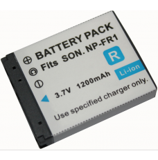 Sony Sony NPFR1 3.7V 1200mAh Replacement Camcorder Battery