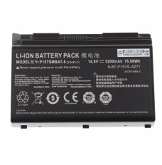 Clevo  P157SMBAT-8 14.8V 5200mAh Replacement Laptop Battery
