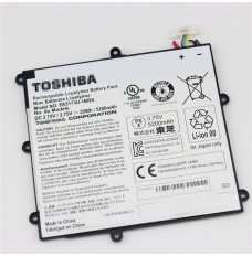 3.75V 20Wh Replacement Toshiba  PA5173U-1BRS 1ICP4/56/89/2 Tablet Battery