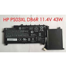 Hp HSTNN-DB6R 11.4V 43Wh Replacement Laptop Battery