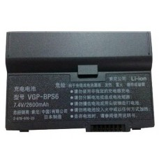 Sony VGP-BPL6 74V 2600mAh Replacement Laptop Battery