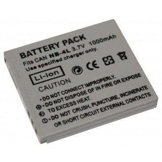 Replacement Canon NB-4L IXUS 255 115 220 230 HS 110 120 130IS Camera Battery