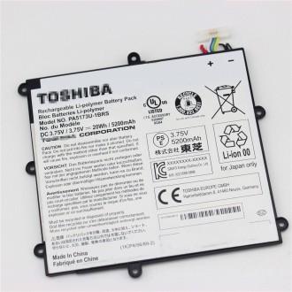 3.75V 20Wh Genuine Toshiba  PA5173U-1BRS 1ICP4/56/89/2 Tablet Battery