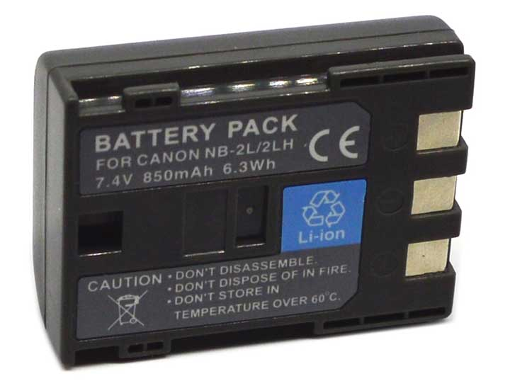 Canon BP-2L5 NB-2L NB-2LH BP-2LH Camcorder Battery