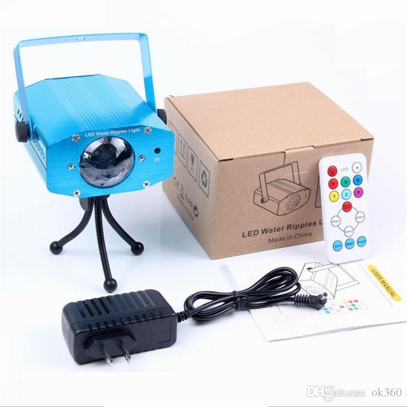 7-Colors-Water-Wave-Effect-Ripple-Projector-3W-Led-Stage-Light